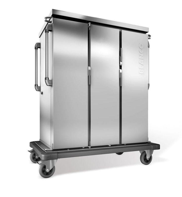 GTARDO.DE:  Tablettwagen 30 GN, aktive Kühlung, doppelwandig, 3 Schränke mit Flügeltüren, BxTxH 1419x783x1636 mm 4 776,00 €