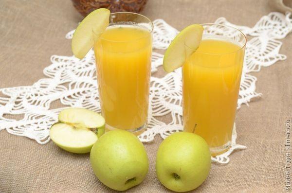 Яблочно-тыквенный напиток