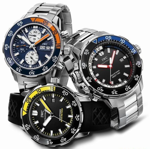 We love IWC's Aquatimer collection!