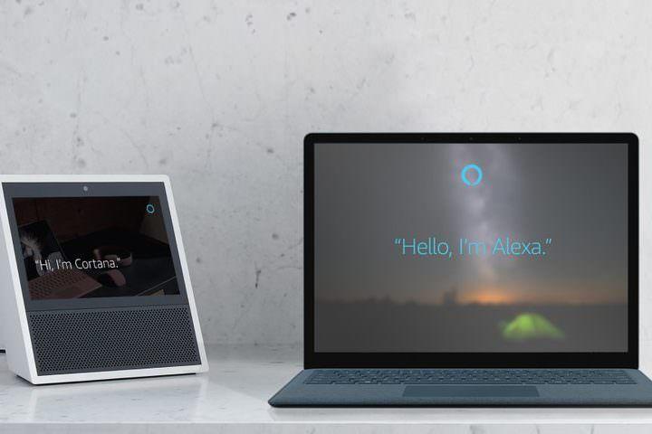 「Cortanaさん、Alexaを呼んで」― マイクロソフトとアマゾンのAIが連携