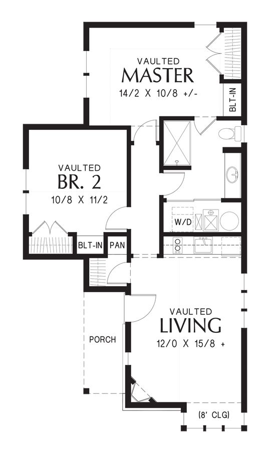 55 best mascord house plans images on pinterest house for Storybook cottages floor plans