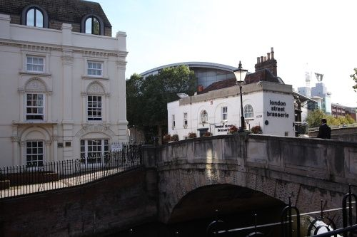 High Bridge, ReadingHigh Bridge over the River Kennet in Reading town centre is the oldest surviving bridge over the Kennet. The present bridge was opened in 1788, and replaced an earlier wooden bridge