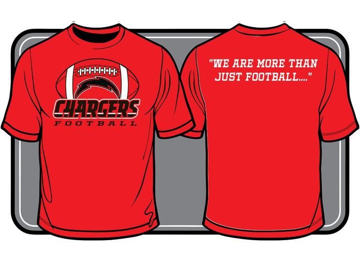 chargers football team t shirt design t shirt designs