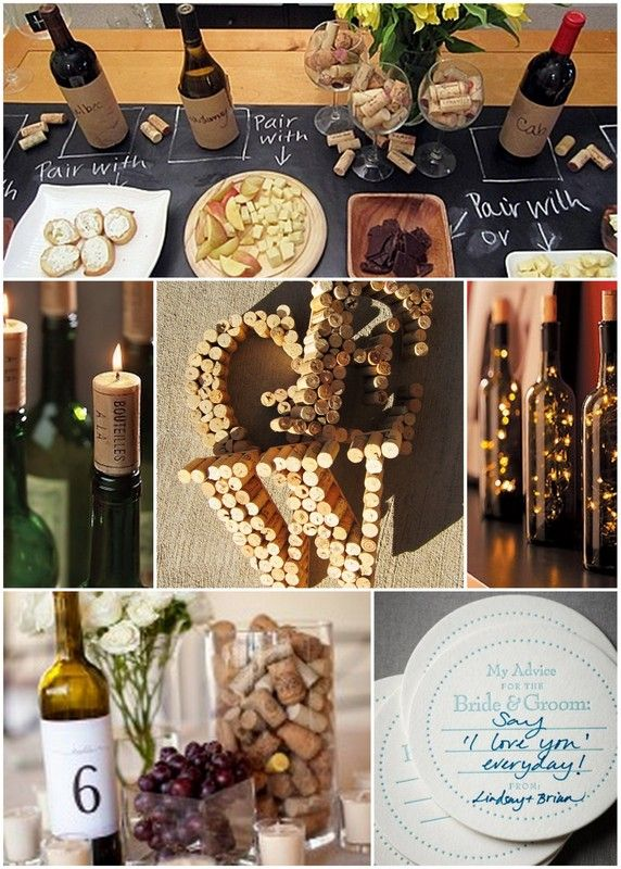 Wine themed shower! Perfect for me.