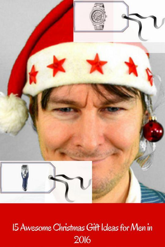 15 Christmas Gift Ideas for men in 2016. #ChristmasGiftIdeas #GiftIdeas #ChristmasPresents