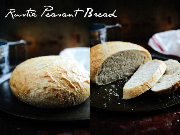 Rustic Peasant Bread Recipe