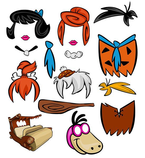 The Flintstones Inspired Digital Photo Booth By
