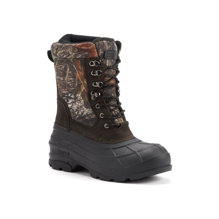 Kamik Nations Plus Camo Men's Winter Boots, Size: medium (11), Brown