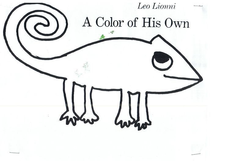 leo lionni coloring pages - 17 best images about preschool book a color of his own on