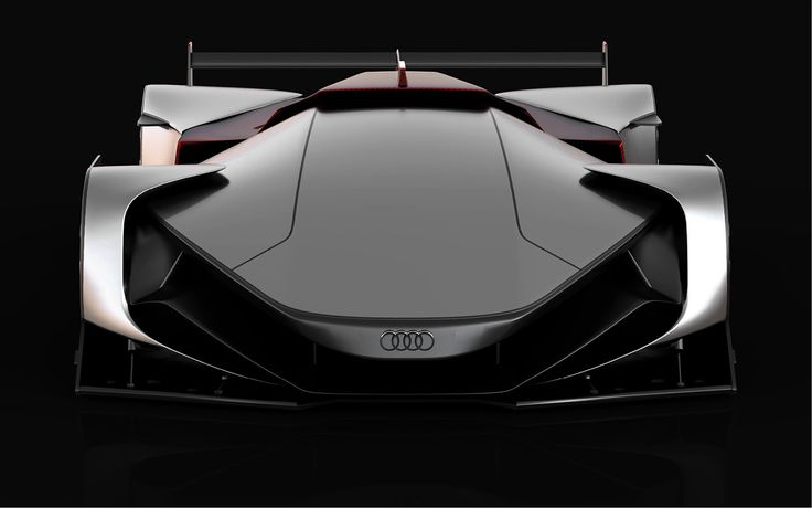 Futuristic vision of the Le Mans car & racing shoes for the Audi & Audi Sport brand.