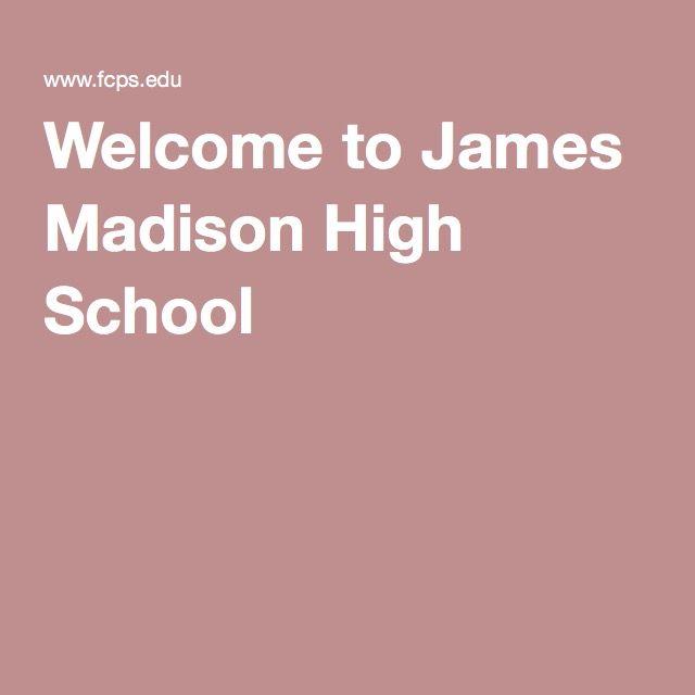 Welcome to James Madison High School #Vienna