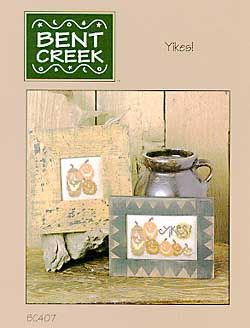 Yikes! - Cross Stitch Pattern  by Bent Creek: Point, Creek Design, 'Re Creek, Cross Stitch Needlepoint, Cross Stitch Patterns, Cross Stitches, Creek Cross, Halloween Stitches