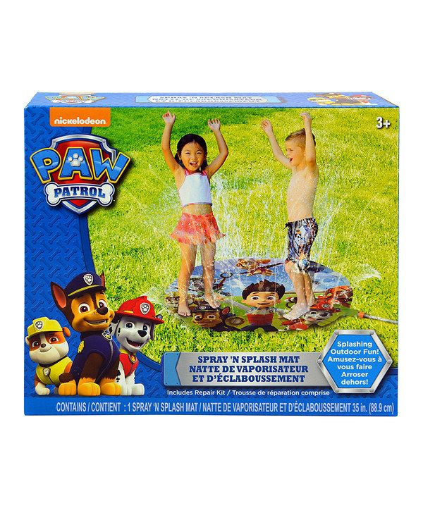 Look at this PAW Patrol Water Spraying Mat on #zulily today!