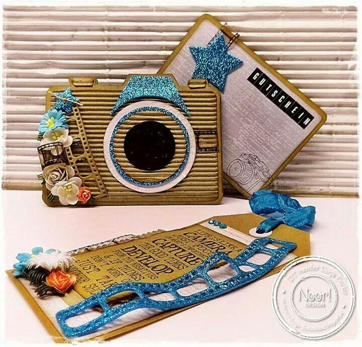 Dutch Doobadoo Card Art Camera door Dunja