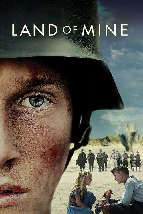 Watch Land of Mine 2015 Full Movie Online Free Download HD BDRip  #LandofMine #movies #movies2015 (In the days following the surrender of Germany in May 1945, a group of young German prisoners of war were handed over to the Danish authorities and subsequently sent out to the West Coast, where they were ordered to remove the more than two million mines that the Germans had placed in the sand along the coast. With their bare hands, crawling around in the sand, the boys were forced to perform…