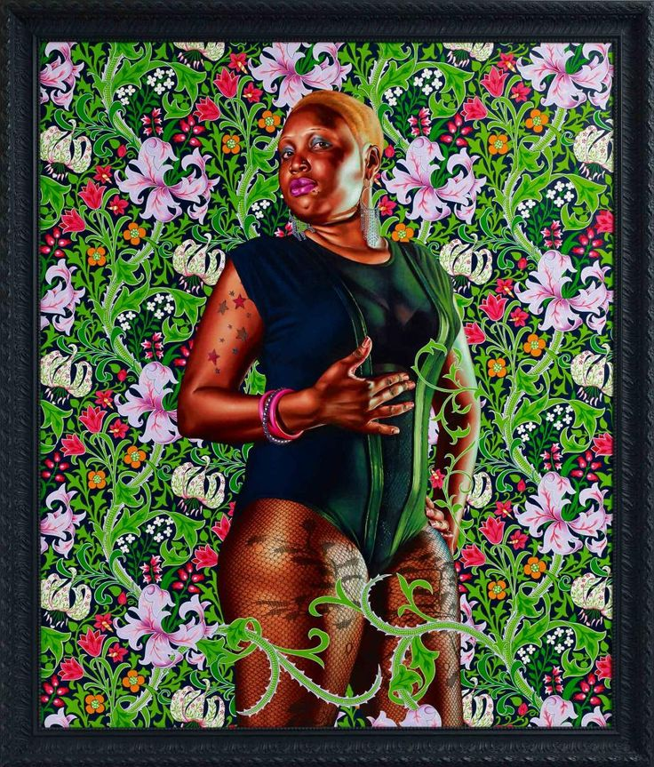 Kehinde Wiley - 'Portrait of Mary Hill, Lady Killigrew'