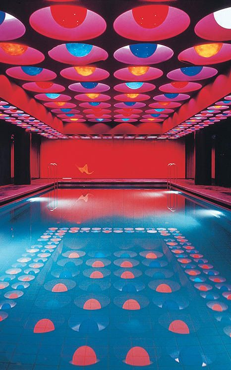 1 | Verner Panton's Neon Pool And The Legacy Of Pop Art Design | Co.Design | business + design