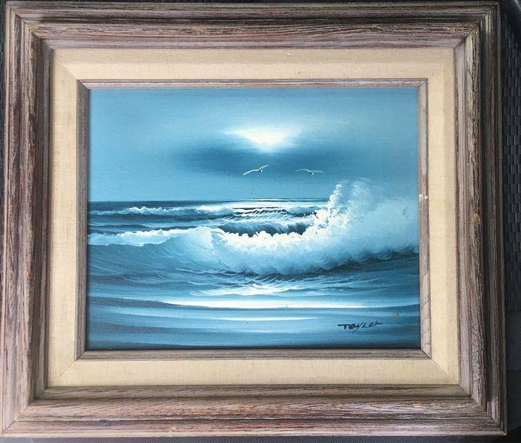 6 Beach Painting Canvas