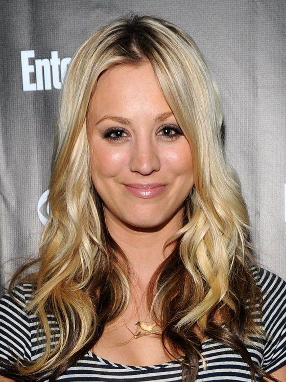 Kaley Cuoco Dark Hair Underneath Highlights Carrie