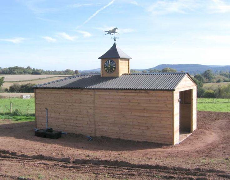 Fixed field shelter.