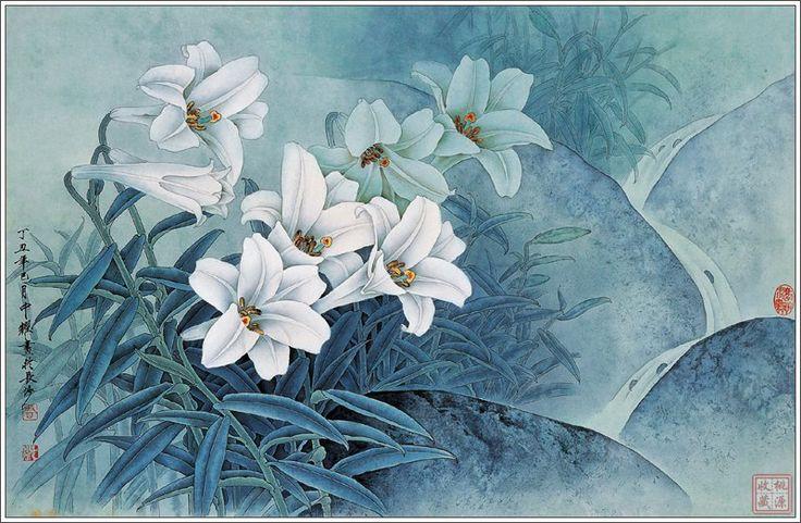 Китайская живопись от Zhou Zhongyao. Обсуждение на LiveInternet - Российский Сервис Онлайн-Дневников