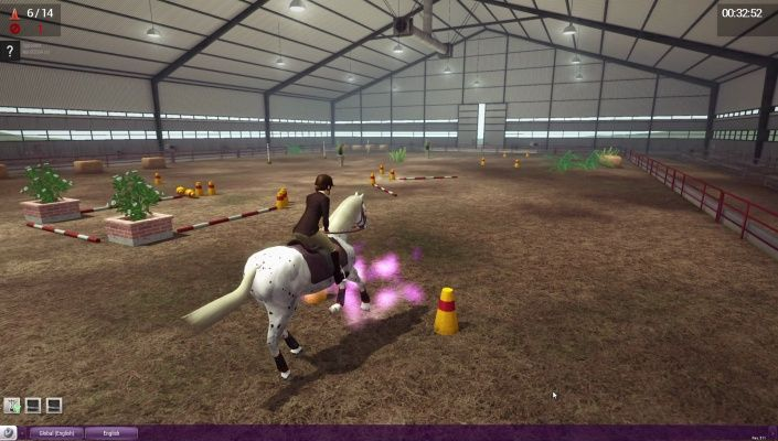 Riding Club Championships is a Free-to-play, Horse riding Multiplayer Sport Game featuring Horse RPG system.