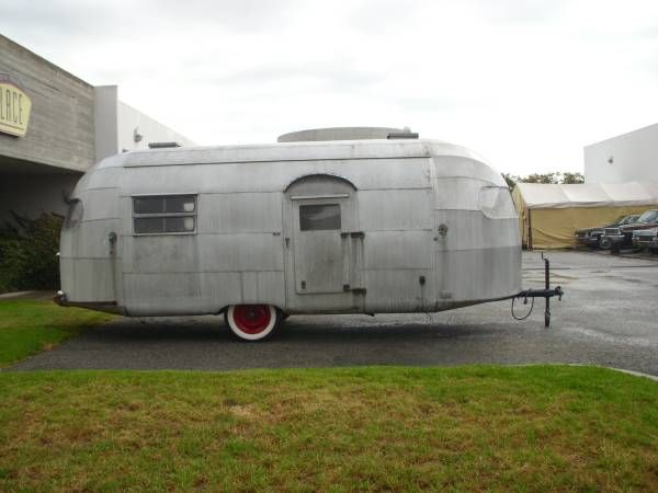 Used RVs 1949 Curtis Wright Vintage RV Trailer For Sale by Owner