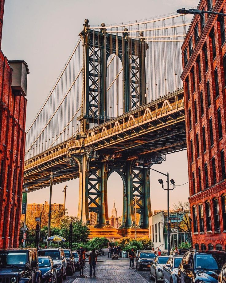 Washington St, Dumbo, Brooklyn by Mike Gutkin - The Best Photos and Videos of New York City including the Statue of Liberty, Brooklyn Bridge, Central Park, Empire State Building, Chrysler Building and other popular New York places and attractions.