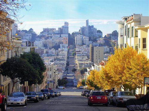 San FranciscoSan Francisco California, Favorite Places, California Crushes, San Francisco Street, Accordingly Without, Creative Travel, San Franciscocalifornia, California Soul, Awesome Spaces