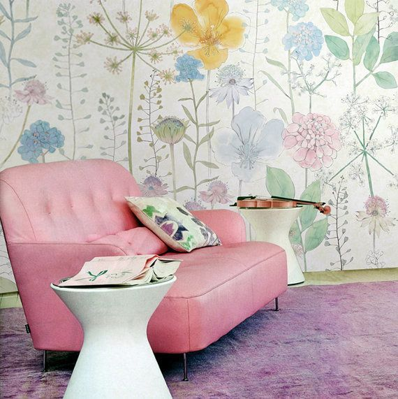 Watercolor Flowers Wallpaper Fresh Spring Flower U0026 By DreamyWall Part 55