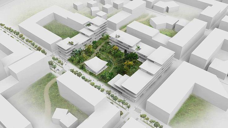 """Zeller & Moye Designs """"Flower Terraces"""" Housing in Ruichang"""