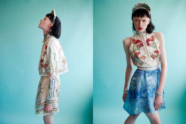 Hermione de Paula S/S 2013 | Trendland: Fashion Blog & Trend Magazine