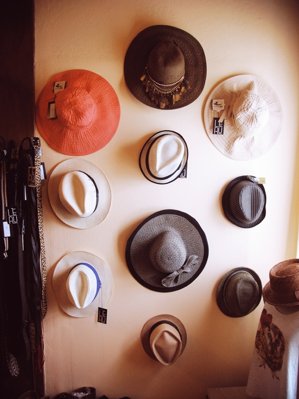 i would hang all my hats on a wall if half of them weren't ball caps; it wouldn't have quite the same effect.