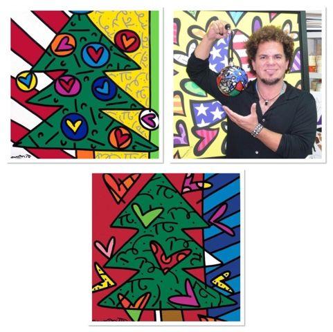 4th Grade Britto Trees-Kim & Karen: 2 Soul Sisters (Art Education Blog): O Britto Tree, O Britto Tree...