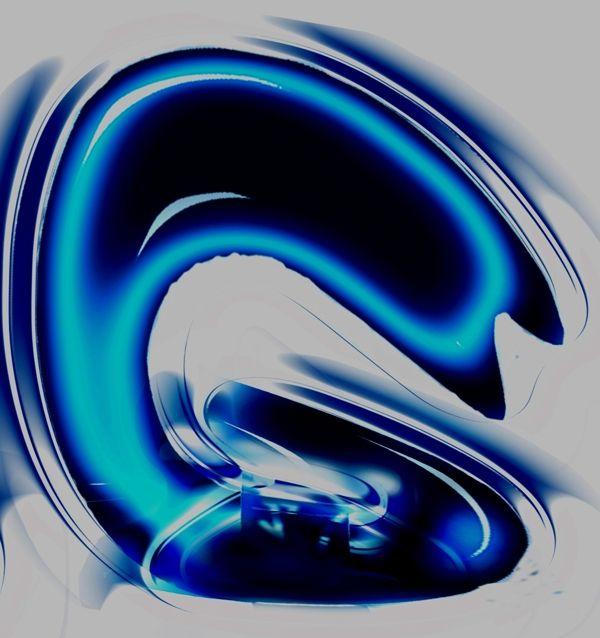 """Water & Fire Letters"" by Steeve Girard, via Behance"