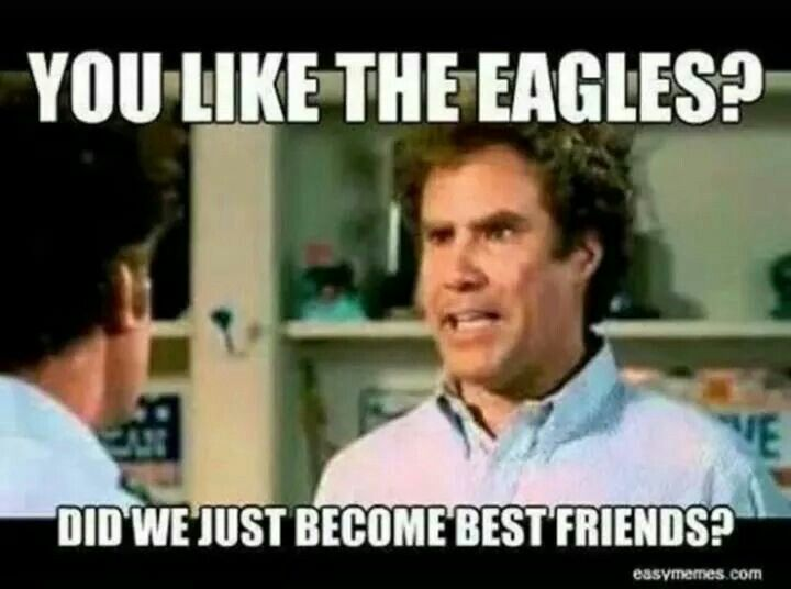 Yup! Do u miss Andy Reid and donavon mcnabb? Yup!! are we EAGLES nation?! Yup!