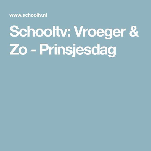 Schooltv: Vroeger & Zo - Prinsjesdag