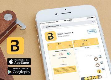 Smart Bottle Opener + App