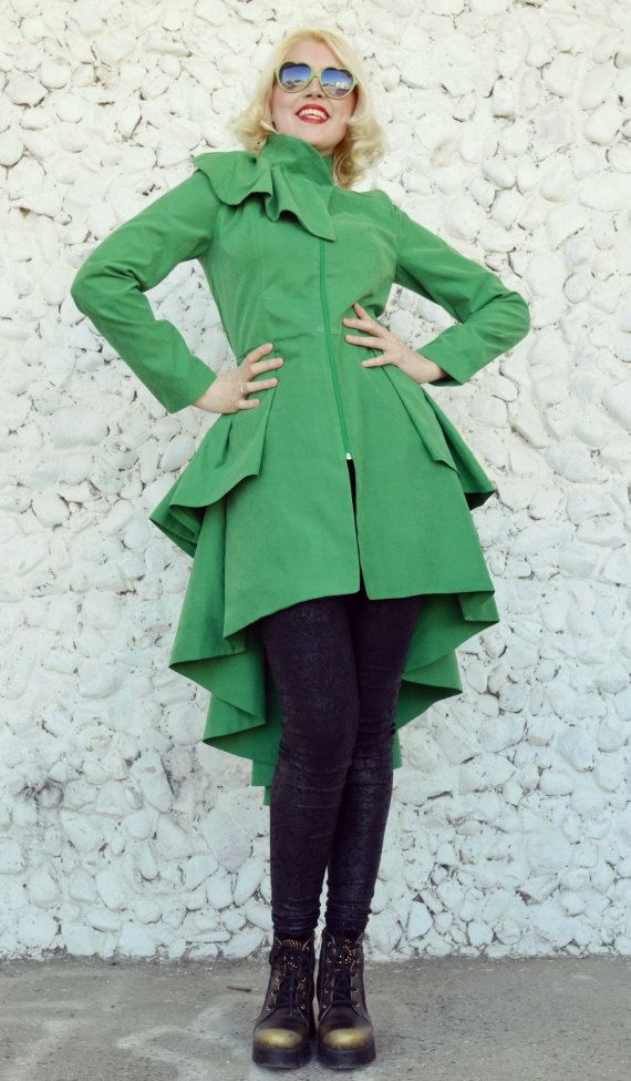 Extravagant Taffeta Jacket / Green Spring Jacket / Elegant Green Jacket / Flounce Jacket / Flounce Taffeta Jacket TC65 by TEYXO https://www.etsy.com/listing/268883912/extravagant-taffeta-jacket-green-spring?utm_campaign=crowdfire&utm_content=crowdfire&utm_medium=social&utm_source=pinterest
