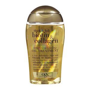Thick & Full Biotin & Collagen Weightless Healing Oil Treatment Organix Haircuts