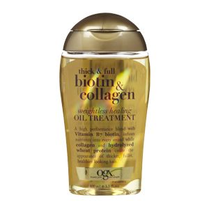 Thick & Full Biotin & Collagen Weightless Healing Oil Treatment Organix Haircuts