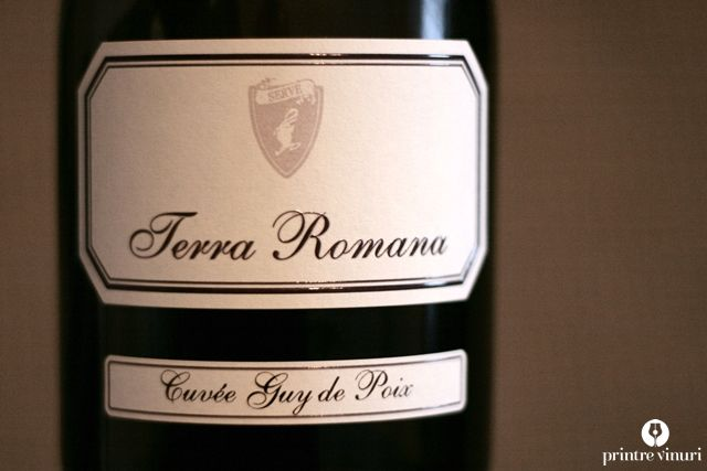 #FeteascaNeagra Cuvee Guy de Poix 2011, SERVE. #WinesofRomania