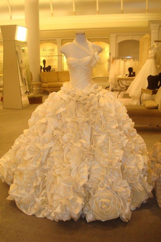 Pinina Tornai Wedding Dress --Amanda this is what you need