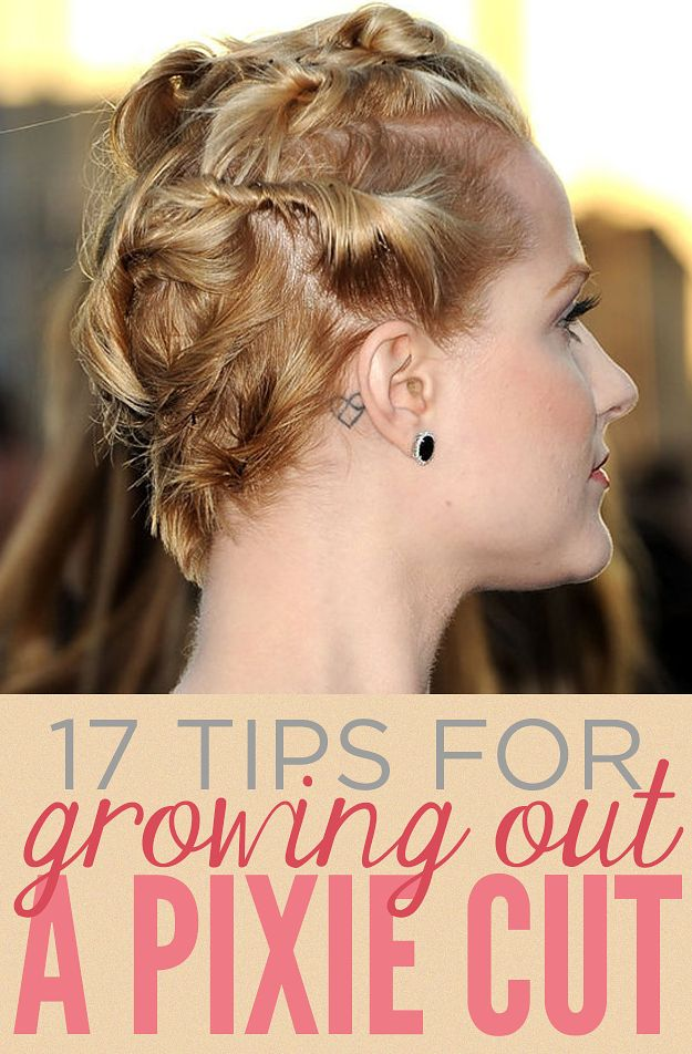 17 Things That I Would Tell My Future 17 Year Old Daughter: 17 Things Everyone Growing Out A Pixie Cut Should Know