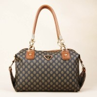 Fashion Women Shoulder Handbag With Smooth Leather Top Handle