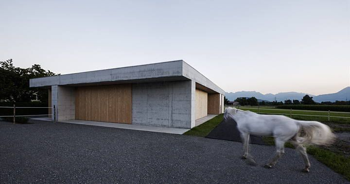 Horse clinic by Marte.Marte Architekten