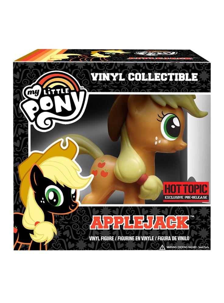 My Little Pony Applejack Vinyl Figure Pre-Order Hot Topic Exclusive   Hot Topic