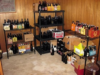 I am in search of Beer Cellar inspiration, even this beats my current setup!