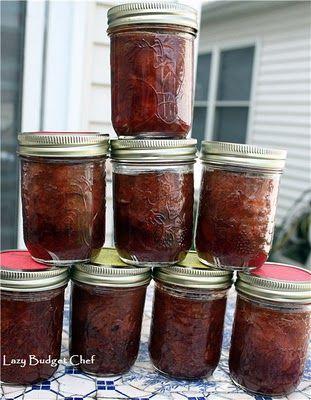 Lazy Budget Chef: Canning Strawberry Peach Jam