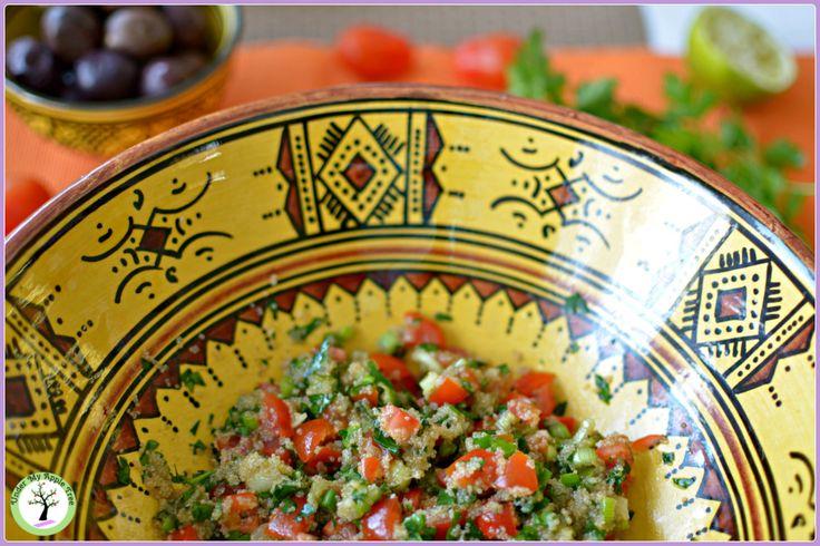 Amaranth gluten free tabbouleh recipe